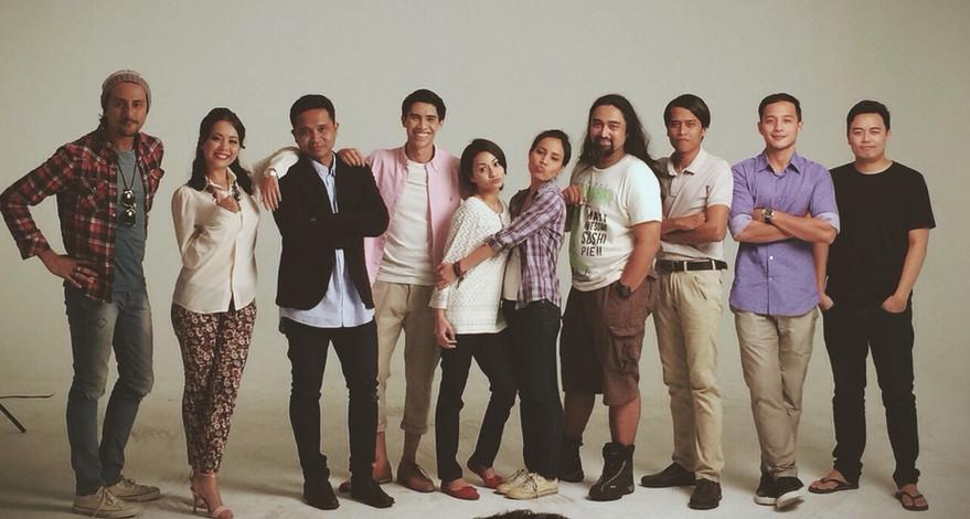 Cast and Creative team of Terbaik Dari Langit