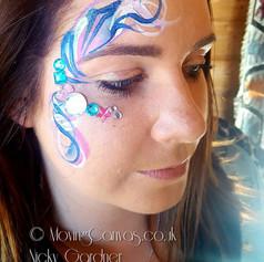Eye Design Face Paint festival