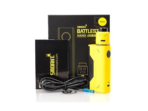 Battlestar Nano RDA kit Giallo - Smoant