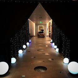 #partytimerentals #partytimerentalsnaples #entrance #starlightstarbright #spacetheme #pipeanddrape #