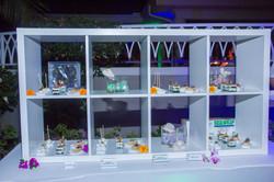 bar back food display