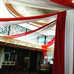 circus theme ceiling treatment