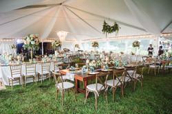 tents, fabric ceiling , wedding set