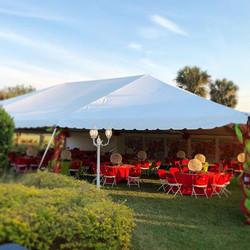 festive tent