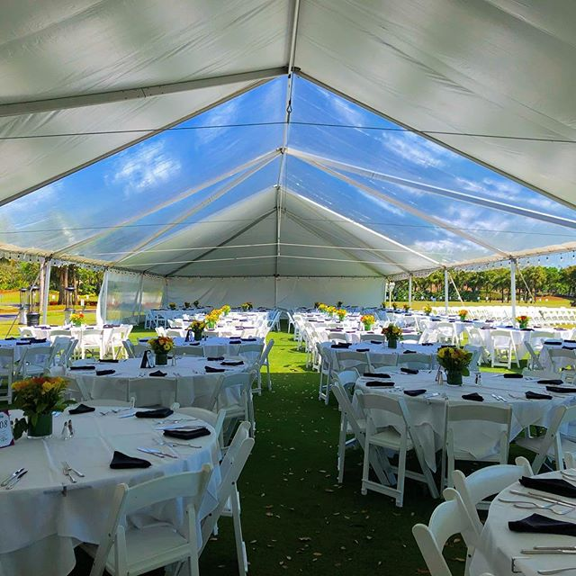 clear and white tent Sky light