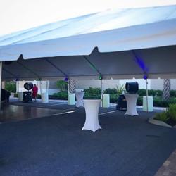 tent dancefloor lighting
