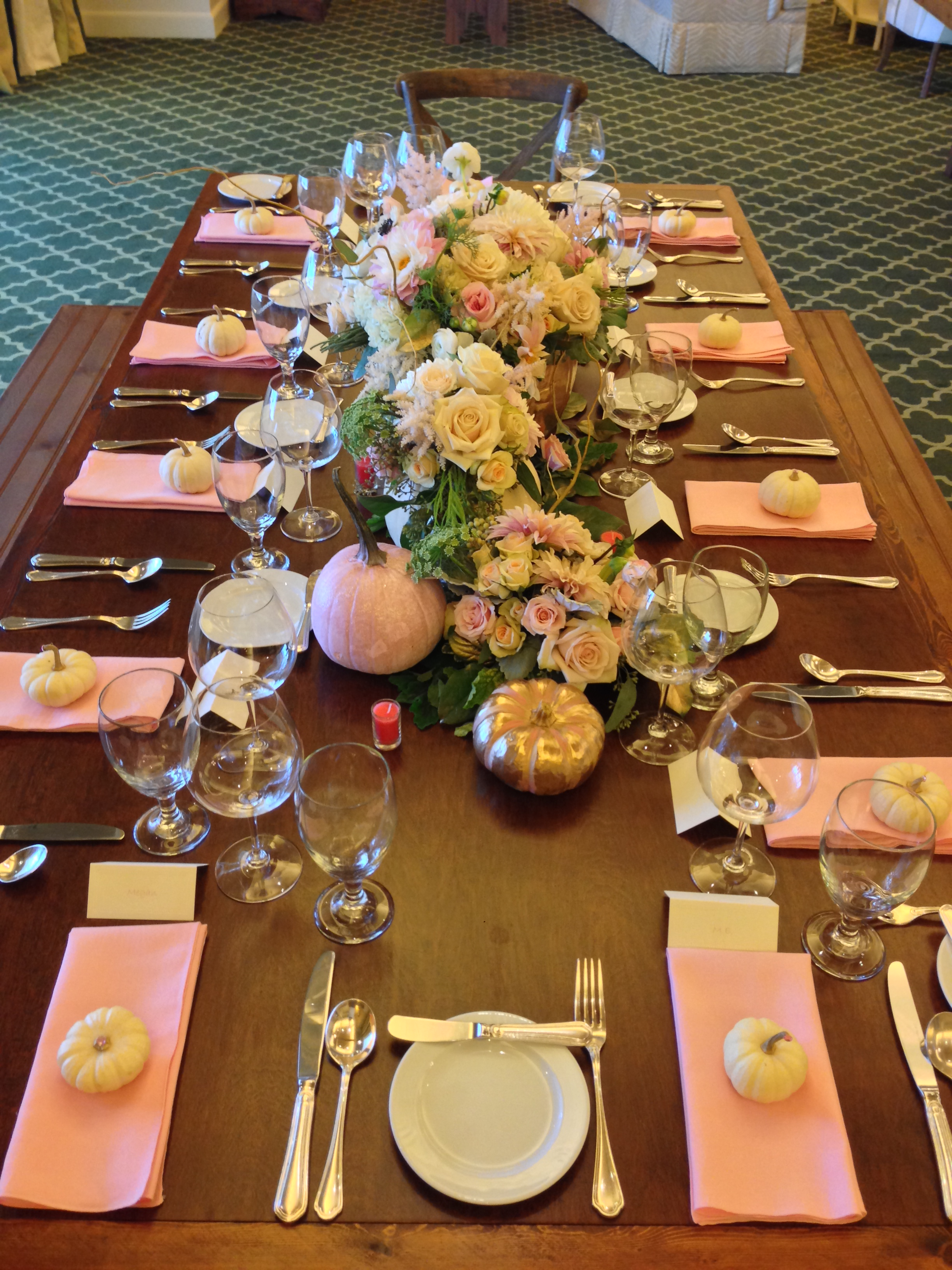 blush harvest walnut king table