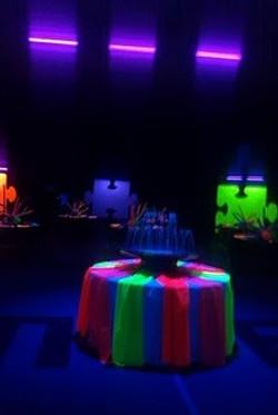 Black+Light+Party