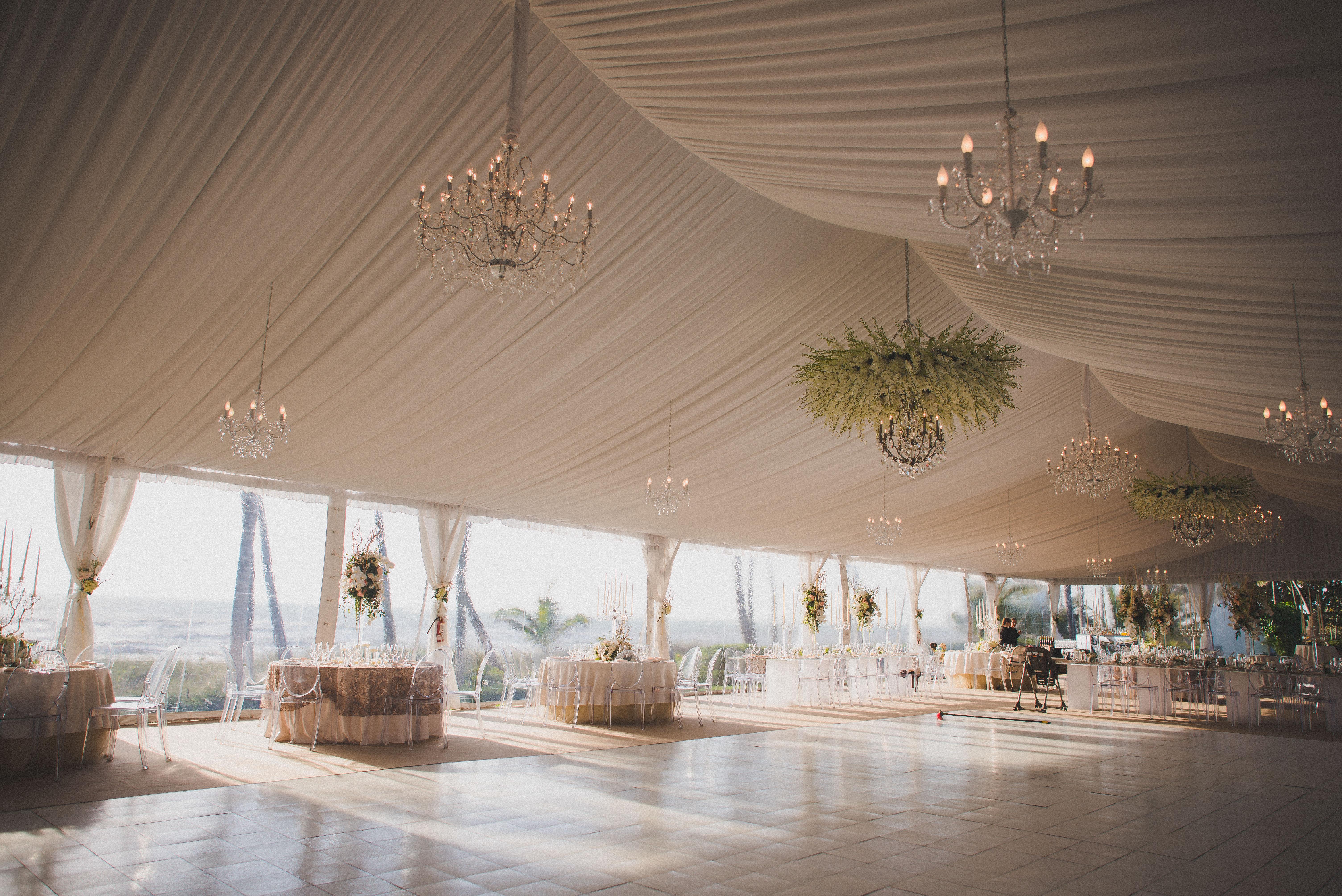 wedding tent liner