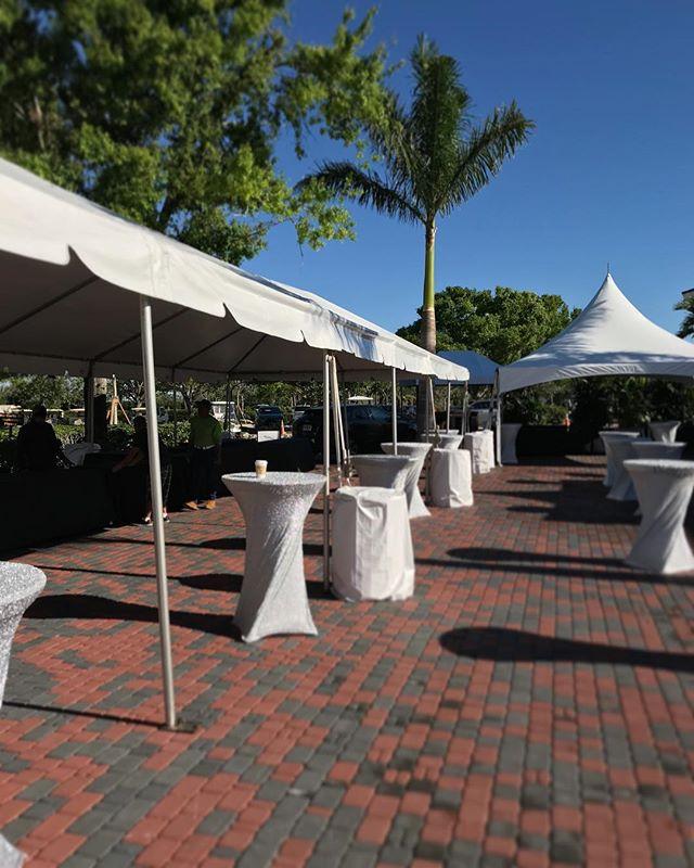 #tents #sparklespandex #partytime #naples #eventtent #eventrentals #setups #partytimerentalsnaples