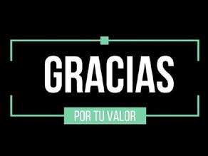 CAMPAÑA #GRACIASXTUVALOR