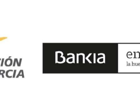GRACIAS A BANKIA EN ACCIÓN Y FUNDACIÓN CAJAMURCIA!