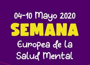 NOS SUMAMOS A MENTAL HEALTH EUROPE (SEMANA EUROPEA DE LA SALUD MENTAL)