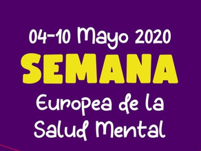 NOS SUMAMOS A MENTAL HEALTH EUROPE (SEMANA EUROPEA DE LA SALUD MENTAL)