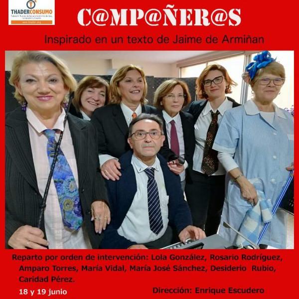 C@MP@ÑER@S OBRA DE TEATRO SOLIDARIA A FAVOR DE TP CARTAGENA MM Y AFIBROCAR