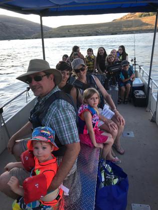 Church boat day