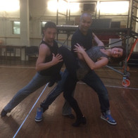 Tango rehearsals with Vincent & Flavia