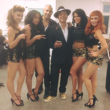 Choreographing Mambo No.5 with the man himself Lou Bega