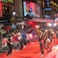 Red Carpet Premier perfromance for Cuban Fury