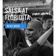 Guest Salsa teacher at Floridita London