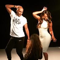 Choreographing Mel B