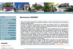 PHOTO MAIRIE DE BOSSEY