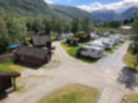 Hytter og bobilparkering