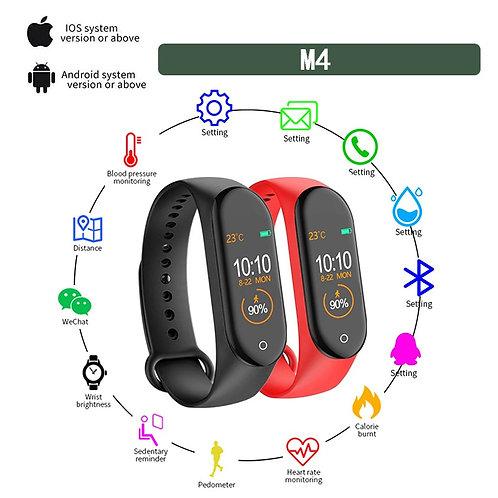 Montre unisexe Bluetooth compatible avec Android et iOS.