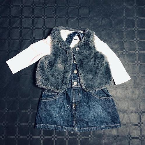 Ensemble robe jean