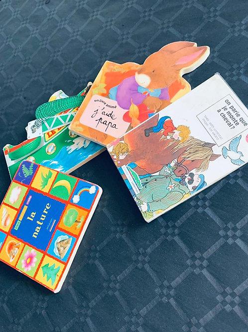 Livre d'histoire enfant (0-5 ans)