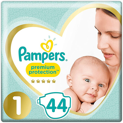 Couches Pampers protection