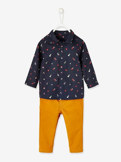 Ensemble pantalon et chemise