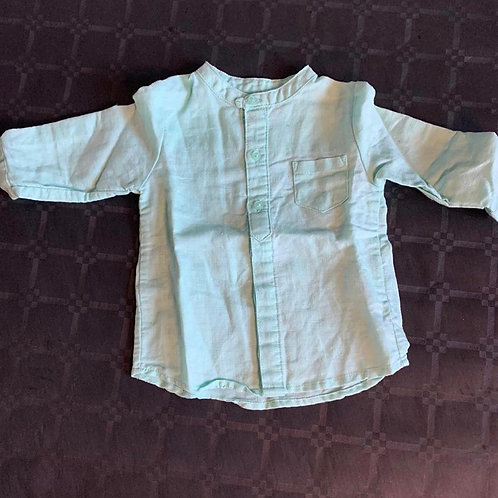 Chemise blanc(6-24 mois)