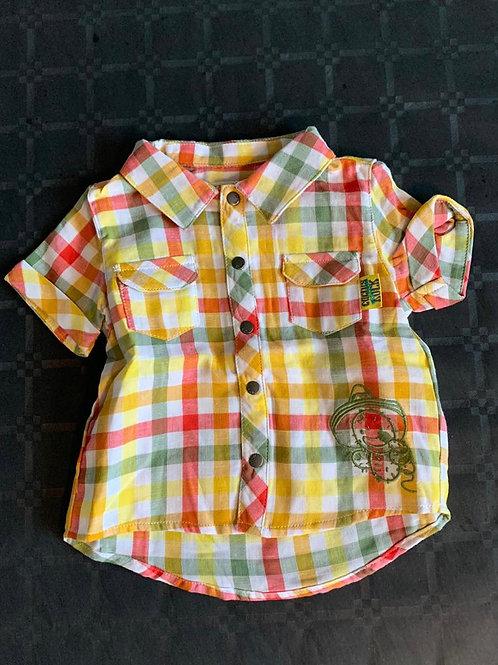 Chemise manche courte (6-12 mois)
