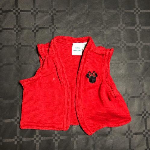 Gilet rouge mini