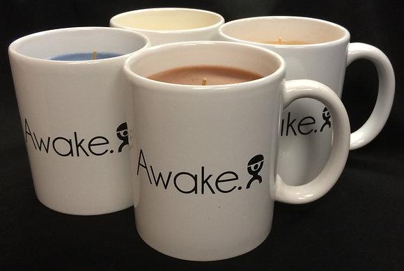 AWAKE COFFEE MUG CANDLES