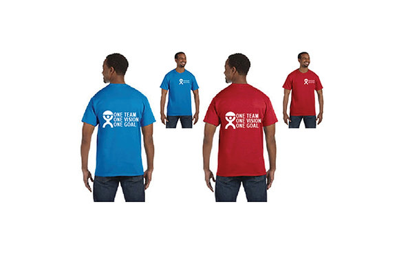 "SHORT SLEEVE ""ONE TEAM ONE VISION ONE GOAL"""