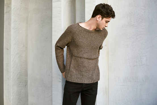 Open Neck Sweater 93% FS Alpaca - 7% Polyamide