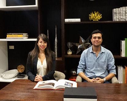 Claudia y Carlos Cordero