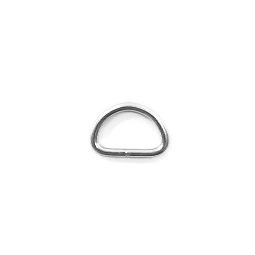 Iron D-Ring Medium RG7 Nickel