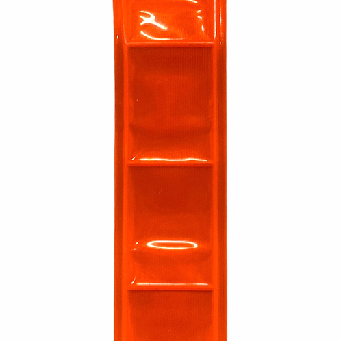 Reflective PVC Tape 35mm (Orange)