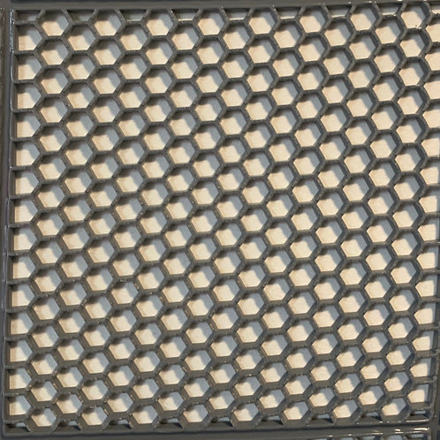 TP217 Honeycomb Mat (Grey)