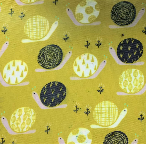 Printed Fabric (Escargot)