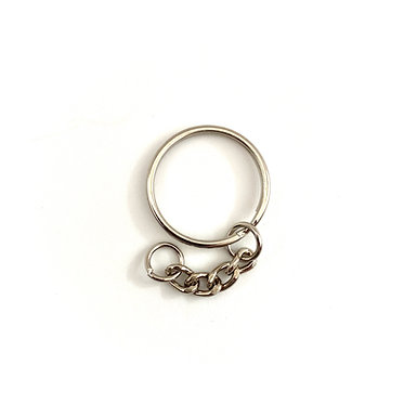 Keyring with Chain (25mm)