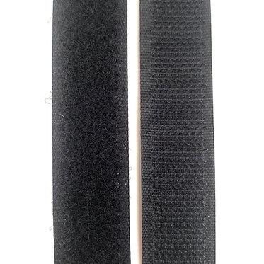 """Hook & Loop / Velcro (0.75"""") Black"""