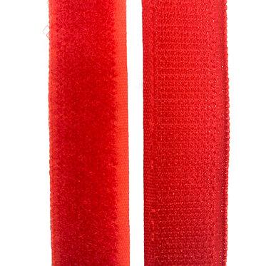 """Hook & Loop / Velcro (0.75"""") Red"""