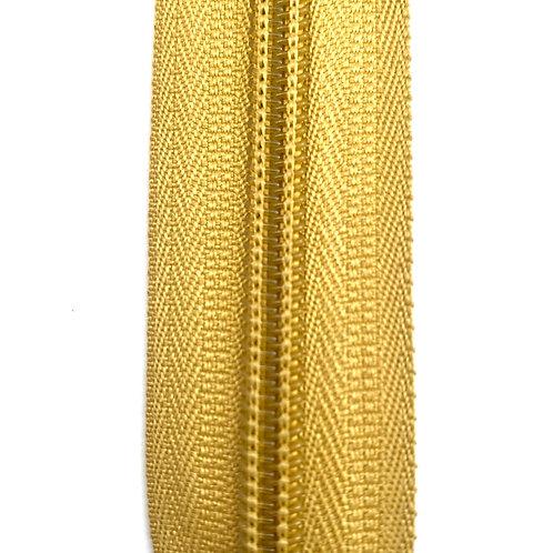 Zipper Nylon #6 (Mustard)