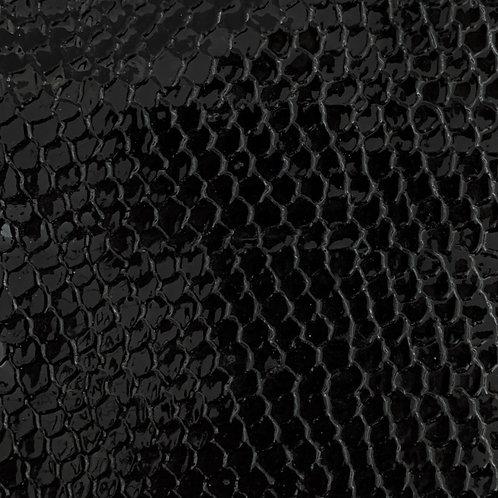 PU Leather - Croco (Black)