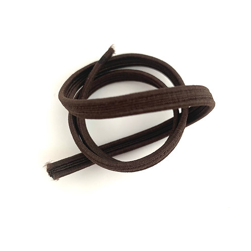 Elastic Flat 1mm Brown