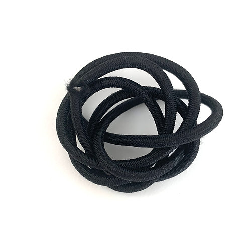 Elastic Round 3mm (Black)